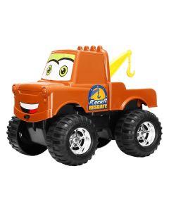 Carrinho Racer Resgate Carros Disney Dismat - Marrom