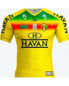 Camisa Brusque FC 2020 Adulto Patrocínio Havan Amarelo