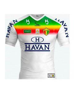 Camisa Brusque FC 2020 Infantil Patrocínio Havan Branco