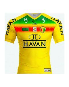 Camisa Brusque FC 2020 Infantil Patrocínio Havan Amarelo