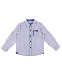 Camisa de 1 a 3 Anos Listrada Yoyo Kids