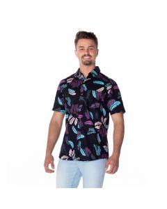 Camisa Estampada Nicoboco Preto