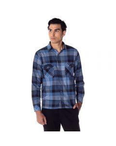 Camisa Masculina Adulto Flanela com Lapela Thing