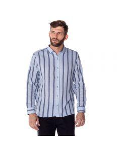 Camisa Masculina Linho Listra Thing