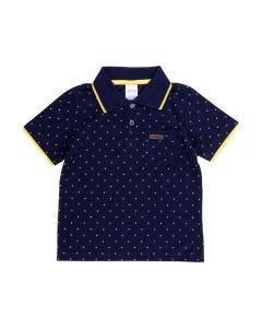 Camisa Polo de 1 a 3 Anos Poa Alakazoo Marinho