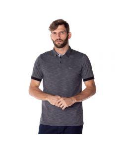 Camisa Polo Masculina Maquineta Marc Alain Preto