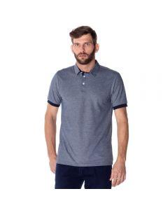 Camisa Polo Masculina Mesclada Marc Alain