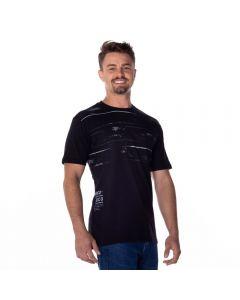 Camiseta Estampada Nicoboco Preto