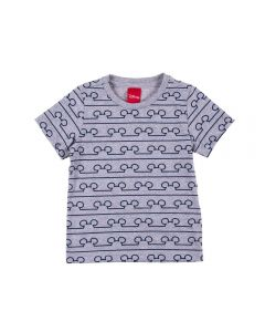 Camiseta 1 a 3 Anos Mickey Disney Mescla