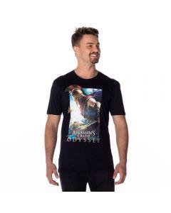 Camiseta Assassin's Creed Licenciado Preto