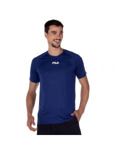Camiseta Basic Train Melange Fila Royal Mescla