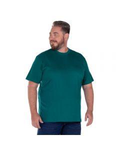 Camiseta Básica Plus Size Nicoboco Verde