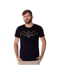 Camiseta Batman Estampa em Gel DC Comics Preto