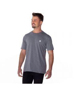 Camiseta com Estampa Nicoboco Mescla Escuro