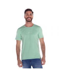 Camiseta com Estampa Thing Verde Menta