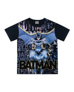 Camiseta de 1 a 3 Anos Batman Letras Dc Comics