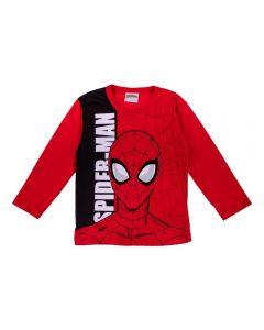 Camiseta de 1 a 3 Anos do Homem Aranha Fakini Vermelho