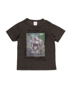 Camiseta de 1 a 3 Anos Holográfica Alakazoo Verde