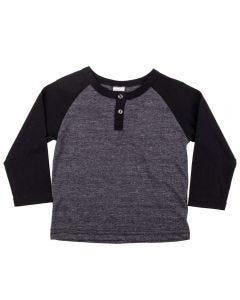 Camiseta de 1 a 3 Anos Moline Alakazoo Preto
