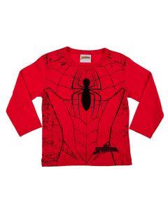 Camiseta de 1 a 3 Anos Spider Man Fakini Vermelho
