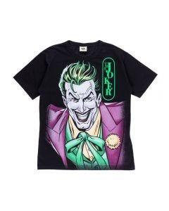 Camiseta de 4 a 10 Anos Coringa Dc Comics Preto