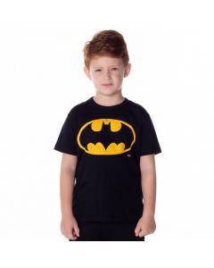 Camiseta de 4 a 10 Anos Batman DC Comics Preto