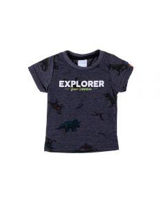 Camiseta de Bebê Malha Dinos Yoyo Baby