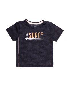 Camiseta de Bebê Malha Surf Alakazoo Preto