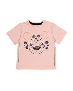 Camiseta de Bebê Malha Tigre Alakazoo Salmao