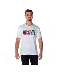Camiseta em Algodão Marvel