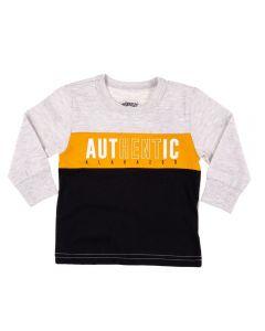 Camiseta Infantil Baby Authentic Alakazoo Cinza