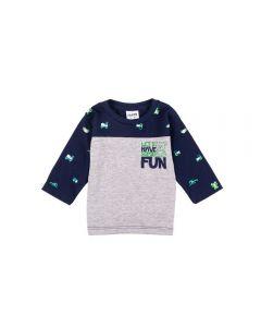 Camiseta Infantil Baby Fakini Marinho