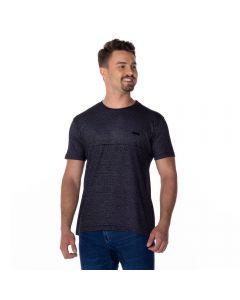 Camiseta Jacquard Nicoboco Preto