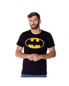 Camiseta Malha Batman DC Comics Preto