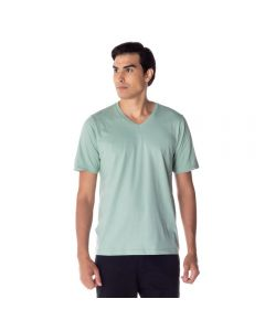 Camiseta Masculina Adulto Gola V Risk Vd Moderno