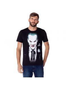 Camiseta Masculina Coringa DC Comics Preto