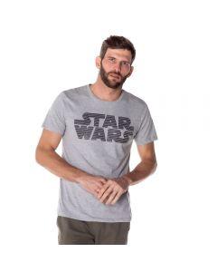 Camiseta Masculina Star Wars Disney Mescla
