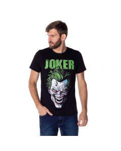 Camiseta Masculina The Joker DC Comics Preto