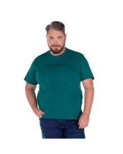 Camiseta Plus com Estampa Nicoboco Verde