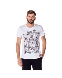 Camiseta Star Wars Personagens Disney Branco