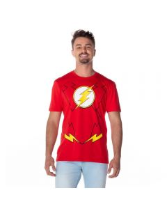 Camiseta The Flash Dc Comics Vermelho