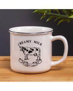 Caneca Creamy Milk Lyor - Branco