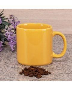 Caneca de Cerâmica Multiuso Lisa Biona 360ml - Amarelo