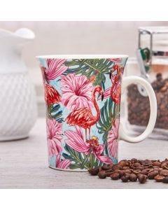 Caneca de Porcelana 320ml - Floral