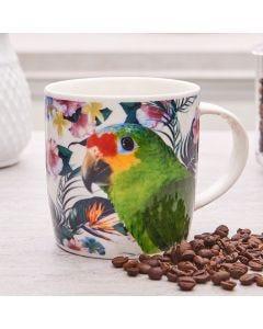 Caneca de Porcelana 350ml Lyor - Papagaio