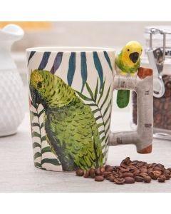 Caneca Papagaio 380ml Rojemac - Ceramica