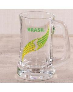 Caneca Scandinavia Brasil 355ml Globimport - Vidro