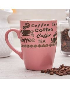 Caneca Vintage Letters 350ml Rojemac - Rosa