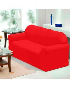 Capa para Sofá de 03 lugares Paris - Vermelho