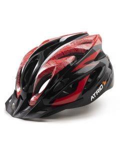 Capacete Para Ciclismo MTB Inmold 2.0 Viseira Removível Atrio - Vermelho G